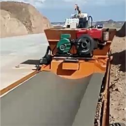 公路浅碟型边沟成型机视频案例