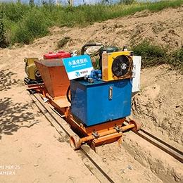 农村小型水渠成型机(河南濮阳)案例
