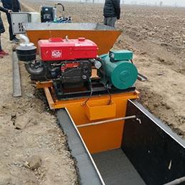 水渠滑模机价格多少效果如何?