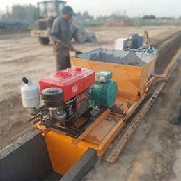 水渠机案例(甘肃庆阳工业园)