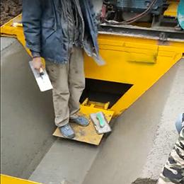 现浇渠道成型机视频案例(湖北襄阳)